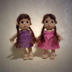 Christmas dolls (Anita - Annie's Granny Design) Tags: crochet amigurumi crochetdolls