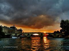 Paris Sunset (Rex Montalban Photography) Tags: sunset paris france europe hdr photomatix rexmontalbanphotography pse9