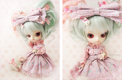 Sugary~ (Paula ~) Tags: carnival pink cute rabbit bunny diptych doll pretty purple candy sweet mint dal carousel pale lolita lilac pony bow ap groove lovely hybrid merrygoround magical angelic sugary ott frilly maretti coolcat whity leeke obitsu junplanning leekeworld 23cm rewigged obitsubody rechipped hardbust obitsued