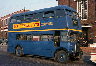 Lesney (Matchbox) Ex LT RT at Hackney Factory. Aug'68.