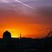 Sunset in Zielona Góra