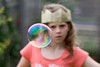 Bubble (Kerrie McSnap) Tags: color colour kids children toys nikon dof depthoffield bubble d60