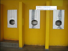 Hand wash basins in the public toilet, Battersea Park (manlio.gaddi) Tags: toilet wc vespasiano gabinetto pisciatoio waterclosed