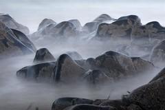 7-1-12 (Copperhobnob) Tags: sea mist rocks explore copperbeech