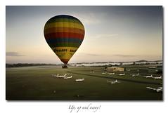 Up, up and away! (Peter & Olga) Tags: sunrise jan camden 2012 balloonflight d700