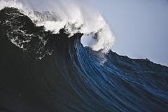 Mavericks (coastalcreature) Tags: ocean california surf pacific wave surfing crest pacificocean lip heavy halfmoonbay swell bluewave mavericks bigwave crashingwave crestingwave