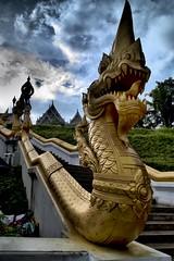 Thailand, Krabi, Temple 'WAT KAEW'