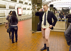2012 01 08 - 4222 - Washington DC - No Pants Metro Ride (thisisbossi) Tags: usa washingtondc dc unitedstates redline metrostations subways trainstations wmata improveverywhere hrt railstations washingtonmetropolitanareatransitauthority trainplatforms nopantssubwayride heavyrailtransit nopantsmetroride metroplatforms railplatforms dcdefenestrators metrocentermetrostation brucewitzenburg capitolimprov capitalimprov npsr
