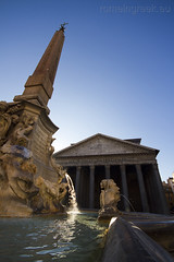 """Piazza del Pantheon, fontana • <a style=""""font-size:0.8em;"""" href=""""http://www.flickr.com/photos/89679026@N00/6665543497/"""" target=""""_blank"""">View on Flickr</a>"""