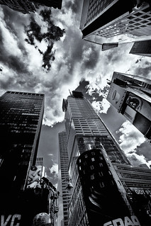 Times Square Clouds