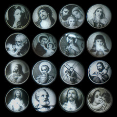 Images from Plastic Novelty Viewer (Rescued by Rover) Tags: christ saints images holy lamb bible infantchrist