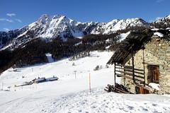 Cartolina da Torgnon (Familygo) Tags: travel family winter italy mountain kids children bambini viaggi aosta valledaosta torgnon