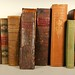 201. Antique Leather Bound Books