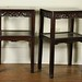223. Pair of Carved Wood Chinese Stands