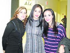 Luly G de Ramirez, Lilia Trevino de Aldama y Analila Brenes**