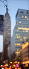 Empire State Building - Out Of Focus (OOF) (N. Maung) Tags: nyc newyork building nikon bokeh roadtrip outoffocus empire winterbreak skycraper oof 35mmf18 empirestatebuidling nmaung
