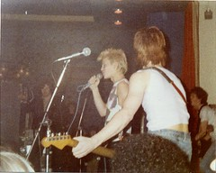 Generation X, The Greyhound, Croydon, 1977 (Paul-M-Wright) Tags: uk england music greyhound london english club photo concert punk guitar live stage gig group band billyidol punkrocker photograph 70s punkrock 1970s 1977 venue seventies croydon newwave genx paulwright generationx punkrockers thegreyhound 70spunk