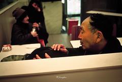 Kodak_E100VS_20-6 (Onni / Xijia Cao) Tags: china winter film restaurant couple shanghai kodak happiness mcdonalds indoors contax contaxt2 sonnar carlzeiss pocketcamera oldgeneration smallmoment gettychinaq2