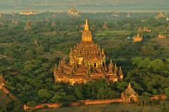 Bagan in the Morning, Myanmar_HXT1490 (ohmytrip) Tags: morning sky sunlight mountain tree history horizontal fog architecture sunrise outdoors temple photography pagoda ancient shrine day religion tranquility buddhism nopeople tourist spire valley remote myanmar ancientcivilization bagan distant placeofworship traveldestinations colorimage beautyinnature nonurbanscene horizonoverland builtstructure incidentalpeople traditionallymyanmarian
