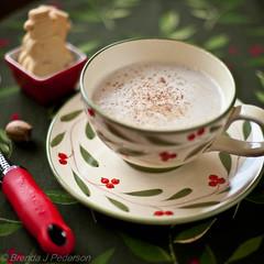 Hot Buttered Rum (Culinary Fool) Tags: cup cookie dof bokeh january 50mm14 365 saucer 014 2012 nutmeg culinaryfool hotbutteredrum project365 14jan brendajpederson 014winner