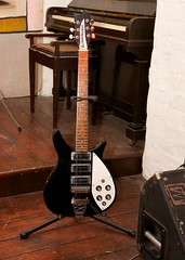Replica of John's Rickenbacker (Stevie378) Tags: england liverpool guitar beatles thebeatles albertdocks beatlesexperience allthingsbeatle