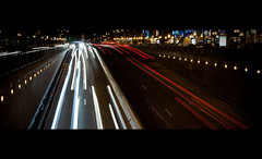 Brussels by night (Angel Bena) Tags: brussels lightpainting cars night speed noche belgium belgique nacht bruxelles nuit vitesse angelbenavides