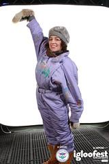 igc1582 (onesieworld) Tags: girls ski sexy bunnies fashion one shiny contest retro suit 80s piece nylon 90s kinky 2012 snowsuit onesie skisuit igloofest