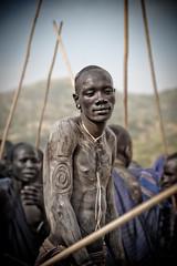 lluitador donga (hamerscat) Tags: ethiopia surma donga