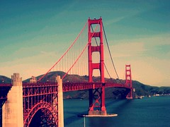 Golden (tifftoh) Tags: sf sanfrancisco california bridge golden francisco goldengatebridge goldengate bayarea sanfran presidio bau