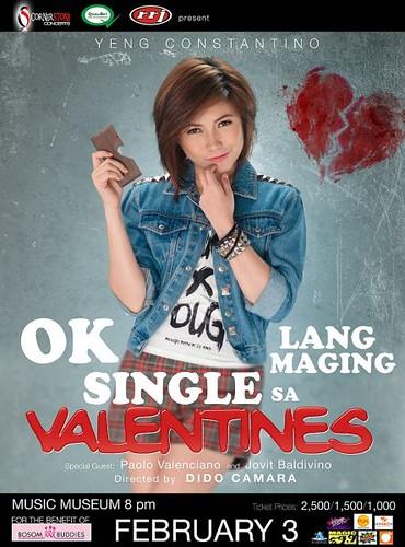 Yeng Constantino - Okay Lang Maging Single