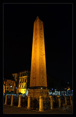 Egyptian Column i.e. Obelisque (IshtiaQ Ahmed revival to Photography) Tags: pakistan pillar egypt istanbul granite pharaoh column sultanahmet obelisque egyptioan ishtiaqahmed