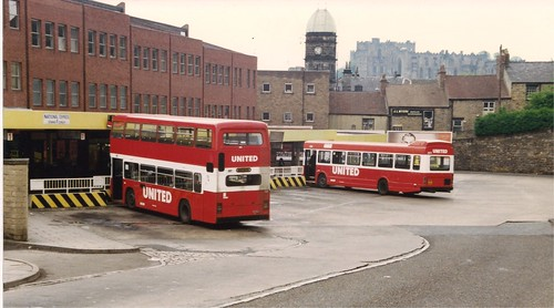 United Automobile Services Durham Bus Station 13th May 1990 A