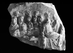 Vestal Virgins at a Banquet (Roger B. Ulrich) Tags: vestalvirgins vestals velate romanbanquet romanreligion arapietatis arareditusclaudii