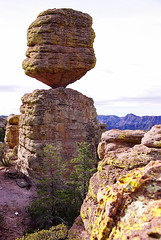 Big Balanced Rock - Chiricahua National Monument (Al_HikesAZ) Tags: county camping arizona usa monument rock big hiking az hike adventure formation national rhyolite cochise balanced chiricahuas tuff welded rockformation chiricahua balancedrock cochisecounty weldedtuff chiricahuanationalmonument bigbalancedrock azhike alhikesaz