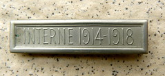 Interne 1914-1918 (Marie-Hélène Cingal) Tags: medal 19141918 médaille internement detalhesemferro
