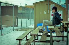 Self Portrait (Kyle Kotajarvi) Tags: winter boy minnesota photography nikon january hipster skatepark indie winona