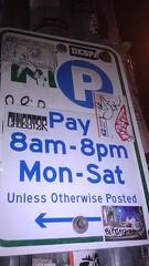 Stickers 693 (gumdrop98102) Tags: seattle streetart sticker blink nbd chubster caphill abot