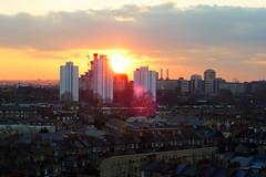 London (Matthew Benjamin Coleman) Tags: city uk sunset england sky streets london tower southlondon southwark lambeth lcc elephantcastle southeastlondon londonboroughoflambeth londoncollegeofcommunication londonboroughofsouthwark lbsouthwark lblambeth