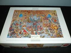3000 piece puzzle, The Thousand and One Nights, by Gabor Szittya, Jeux Nathan (Billsville Mike) Tags: jigsawpuzzles 3000400050006000800090001200013200educanathanfalconclementoniravensburgerschmidtfxschmid