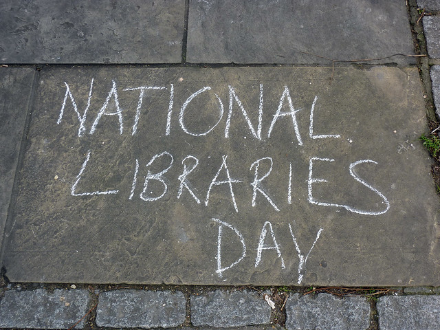 National Libraries Day, Whitstable Library