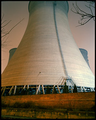 Center cooling tower (Ben_Lepley +_+) Tags: china blue light orange plant green tower smog energy power smoke beijing steam pollution electricity coal sodium fascist warming global turqoise cooling highpressure immoral halide negligant