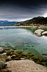 Lake Tahoe 2011 (Constantin Photography|) Tags: lake snow mountains water landscape nikon rocks tahoe sigma clear 1770 284 d7000