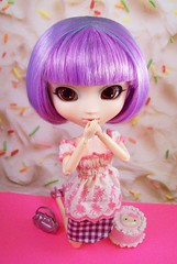 """TAGGED- """"Sweet as Candy"""" (partymonstrrrr) Tags: toy toys doll dolls candy sweet barbie cupcake pullip rement boho pullips frosting annasui celsiy nikkolai chefgina"""