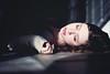 Silence (Danielle Pearce) Tags: light sleeping me girl contrast dark dead quiet sleep shades beam
