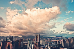 (jim_213) Tags: city sky cloud buildings landscape hongkong sony a55 sal1680z