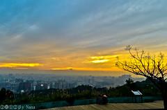 Sunset (娜 娜☂Nana) Tags: life light sunset sky love beautiful clouds nikon colorful natural taiwan 台灣 台灣taiwan i 我愛台灣 d7000