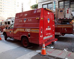 E007s FDNY Ladder 1 Second Supply Truck, Civic Center, New York City (jag9889) Tags: county city nyc ny newyork building tower classic station architecture truck fire 1 manhattan district engine 7 center company second civic borough tribeca ladder van firehouse financial fdny department firefighters civiccenter 2012 supply bravest battalion ssl magnificentseven engine7 battalion1 heavyhitters ladder1 e007 jag9889 y2012