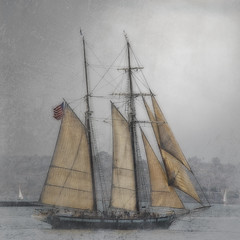 Sailing on the Bay (Artypixall) Tags: texture sailboat bay sandiego getty faa