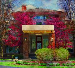 Spring Facade (bethrosengard) Tags: photomanipulation digitalart photoart digitallyenhanced digitalmagic bethrosengard