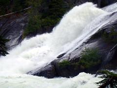 Rooster Tail (Dru!) Tags: canada waterfall whitewater bc britishcolumbia granite coastmountains hydrology bostonbar nahatlatch mehatl mehatlcreek